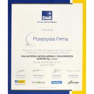 Certyfikat Przejrzysta Firma