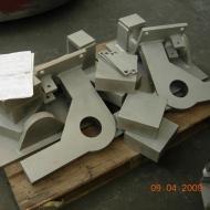 odlew staliwny- konstrukcje stalowe wspornika frezarki